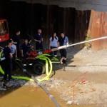 Die Freiwillige Feuerwehr Siegen sorgte für Abkühlung
