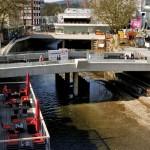 Foto: Der neue Logenplatz über die Sieg an der Oberstadtbrücke ist ein beliebter Treffpunkt geworden.
