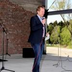 Bürgermeister Mues eröffnet Open-Air-Bühne