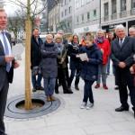 Bürgermeister Steffen Mues fasste noch einmal zusammen, was sich in vier Monaten in der Fußgängerzone getan hat.