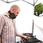 Chillen am neuen Ufer? Für die passende Atmosphäre sorgte die Lounge-Musik von einem DJ.